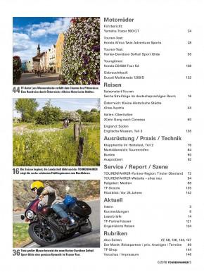 TOURENFAHRER Juni 2018 gedruckte Ausgabe