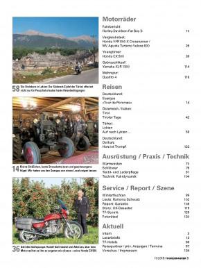 TOURENFAHRER November 2015 gedruckte Ausgabe