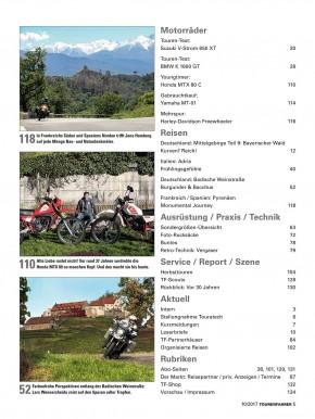 TOURENFAHRER Oktober 2017 gedruckte Ausgabe
